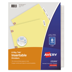 AVE23285 - Avery® WorkSaver® Big Tab™ Paper Dividers