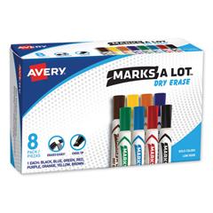 AVE24411 - Avery® Marks-A-Lot® Dry Erase Marker