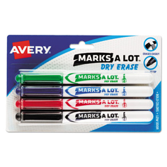 AVE24459 - Avery® Marks-A-Lot® Dry Erase Markers