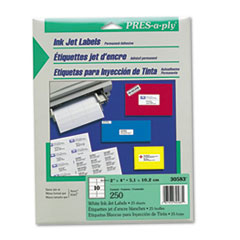AVE30583 - Avery® PRES-a-ply® Mailing Labels