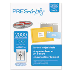 AVE30601 - Avery® PRES-a-ply Mailing Labels
