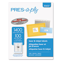 AVE30602 - Avery® PRES-a-ply Mailing Labels