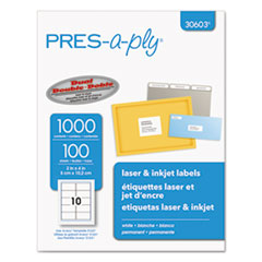 AVE30603 - Avery® PRES-a-ply Mailing Labels