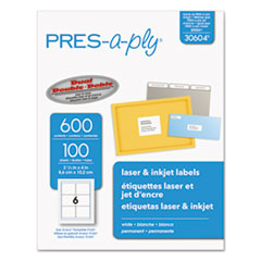 AVE30604 - Avery® PRES-a-ply Mailing Labels