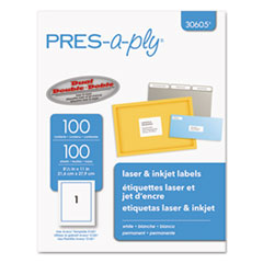 AVE30605 - Avery® PRES-a-ply Mailing Labels