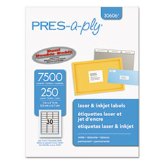 AVE30606 - Avery® PRES-a-ply Mailing Labels