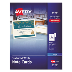 AVE3379 - Avery® Textured Note Cards with Envelopes