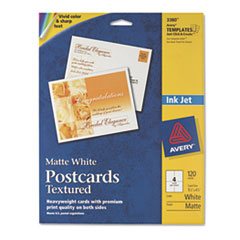 AVE3380 - Avery® Textured Postcards