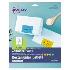 AVE4331 - Avery® Printable Color Labels