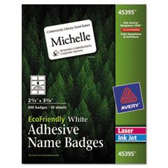 AVE45395 - Avery® EcoFriendly Name Badges