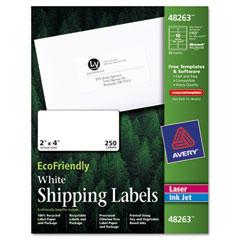 AVE48263 - Avery® EcoFriendly File Folder Labels