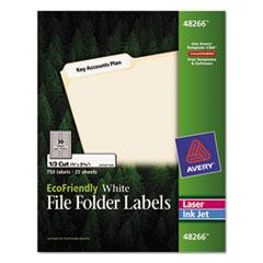AVE48266 - Avery® EcoFriendly File Folder Labels