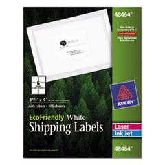 AVE48464 - Avery® EcoFriendly File Folder Labels