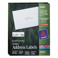 AVE48960 - Avery® EcoFriendly File Folder Labels