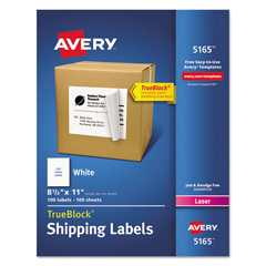 AVE5165 - Avery® Shipping Labels with TrueBlock™ Technology