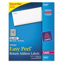 AVE5167 - Avery® Easy Peel® Return Address Labels