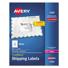AVE5168 - Avery® Shipping Labels with TrueBlock™ Technology
