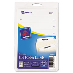 AVE5230 - Avery® Removable File Folder Labels