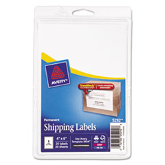 AVE5292 - Avery® Laser/Inkjet Shipping Labels with TrueBlock® Technology