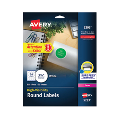 AVE5293 - Avery® High-Visibility Labels