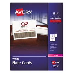 AVE5315 - Avery® Note Cards with Envelopes