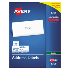 AVE5351 - Avery® Copier Mailing Labels