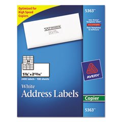 AVE5363 - Avery® Copier Mailing Labels