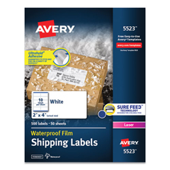 AVE5523 - Avery® WeatherProof™ Durable Labels