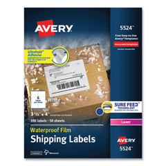 AVE5524 - Avery® WeatherProof™ Durable Labels