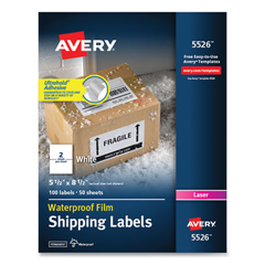 AVE5526 - Avery® WeatherProof™ Durable Labels