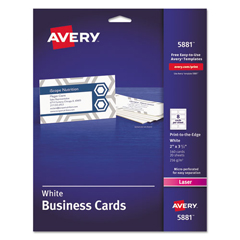 AVE5881 - Avery® Print-to-the-Edge Business Cards