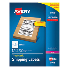 AVE5912 - Avery® Shipping Labels with TrueBlock® Technology