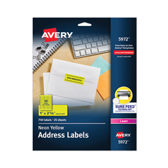 AVE5972 - Avery® High-Visibility Labels