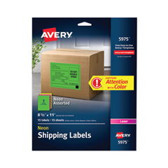 AVE5975 - Avery® High-Visibility Labels