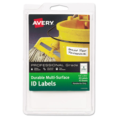 AVE61522 - Avery® Durable Permanent Multi-Surface ID Labels