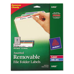 AVE6466 - Avery® Removable File Folder Labels