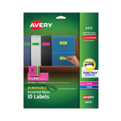 AVE6479 - Avery® Removable Self-Adhesive Color-Coding Labels