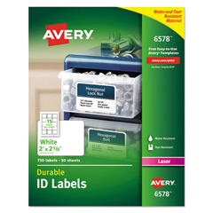 AVE6578 - Avery® Permanent Durable ID Labels