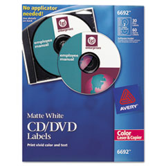 AVE6692 - Avery® CD/DVD Labels