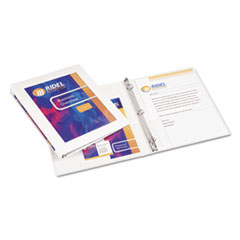 AVE68052 - Avery® Framed View Binder with Gap Free™ Slant Rings