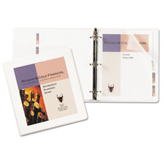 AVE68056 - Avery® Framed View Binder with Gap Free™ Slant Rings