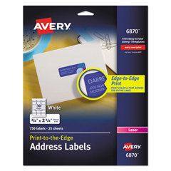 AVE6870 - Avery® Mailing Labels