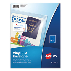 AVE72053 - Avery® Vinyl File Envelope
