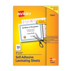 AVE73601 - Avery® Self-Adhesive Laminating Sheets
