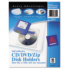 AVE73721 - Avery® Self-Adhesive CD/DVD/Zip® Disk Pocket