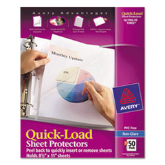 AVE73803 - Avery® Quick-Loading Sheet Protector