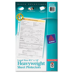 AVE73897 - Avery® Top-Loading Legal Size Sheet Protector
