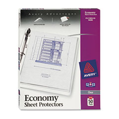 AVE74090 - Avery® Top Loading Standard Weight Sheet Protector