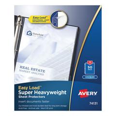 AVE74131 - Avery® Nonglare Finish Sheet Protector