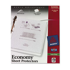 AVE74170 - Avery® Top Loading Standard Weight Sheet Protector